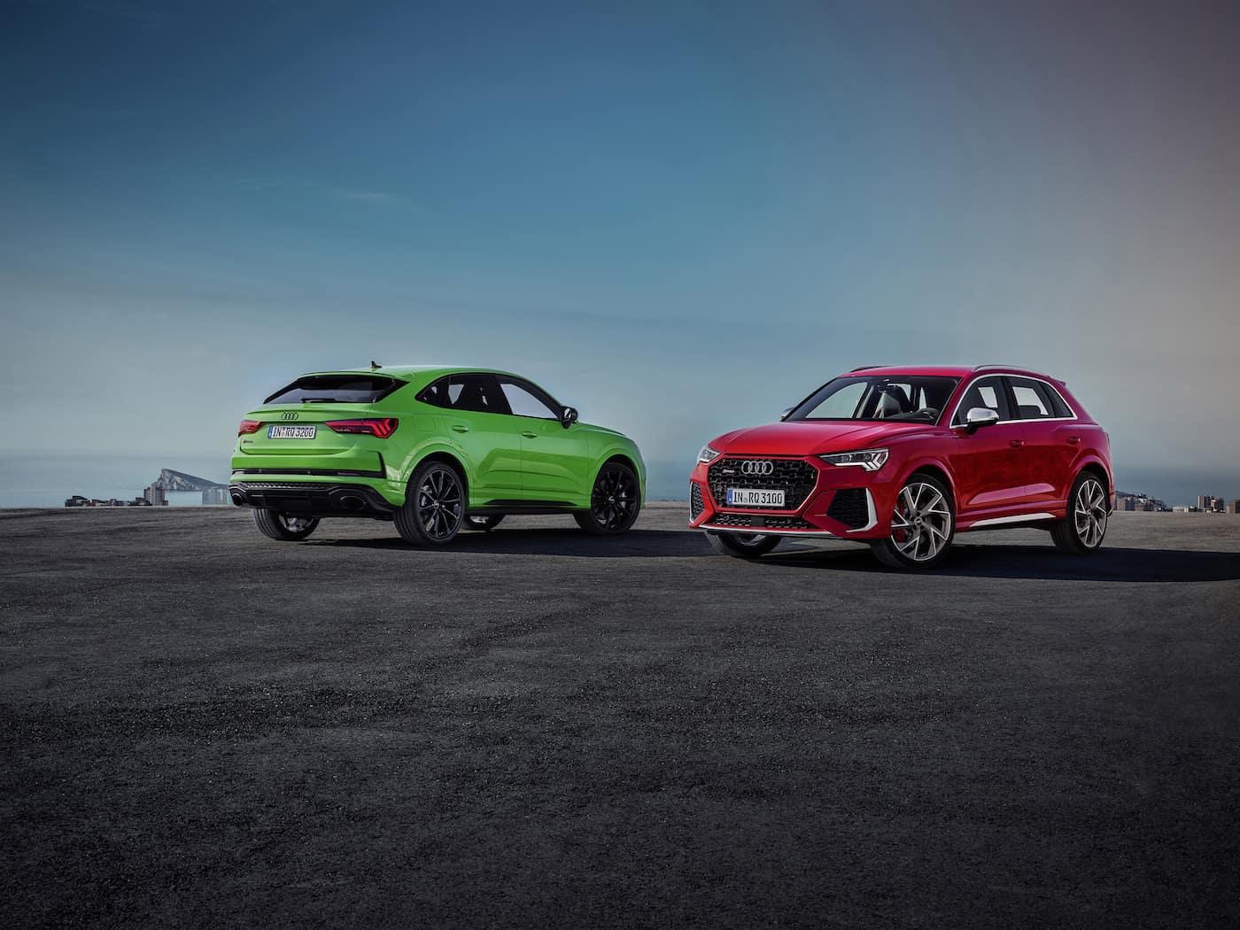 Kompakt und kraftvoll: Audi RS Q3 und Audi RS Q3 Sportback 1