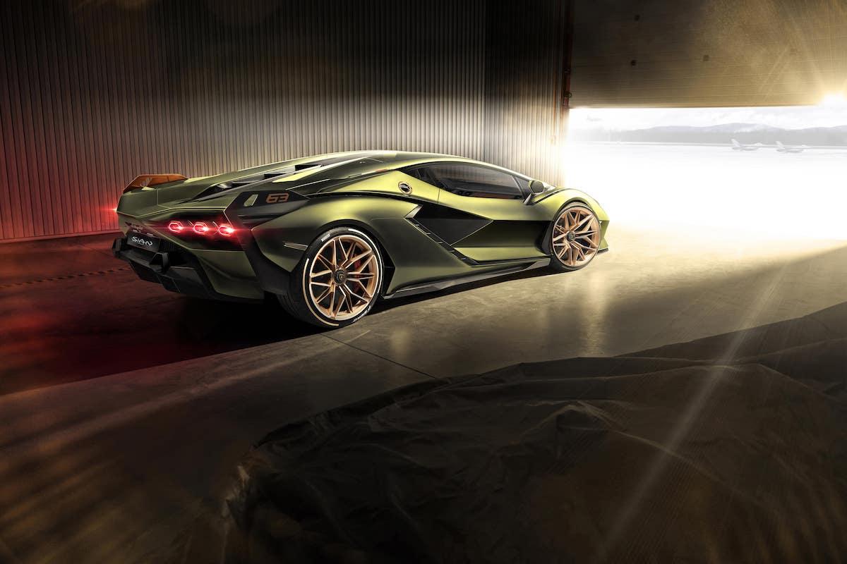 Stärkster Lambo der Welt: Der neue Lamborghini Sián 3