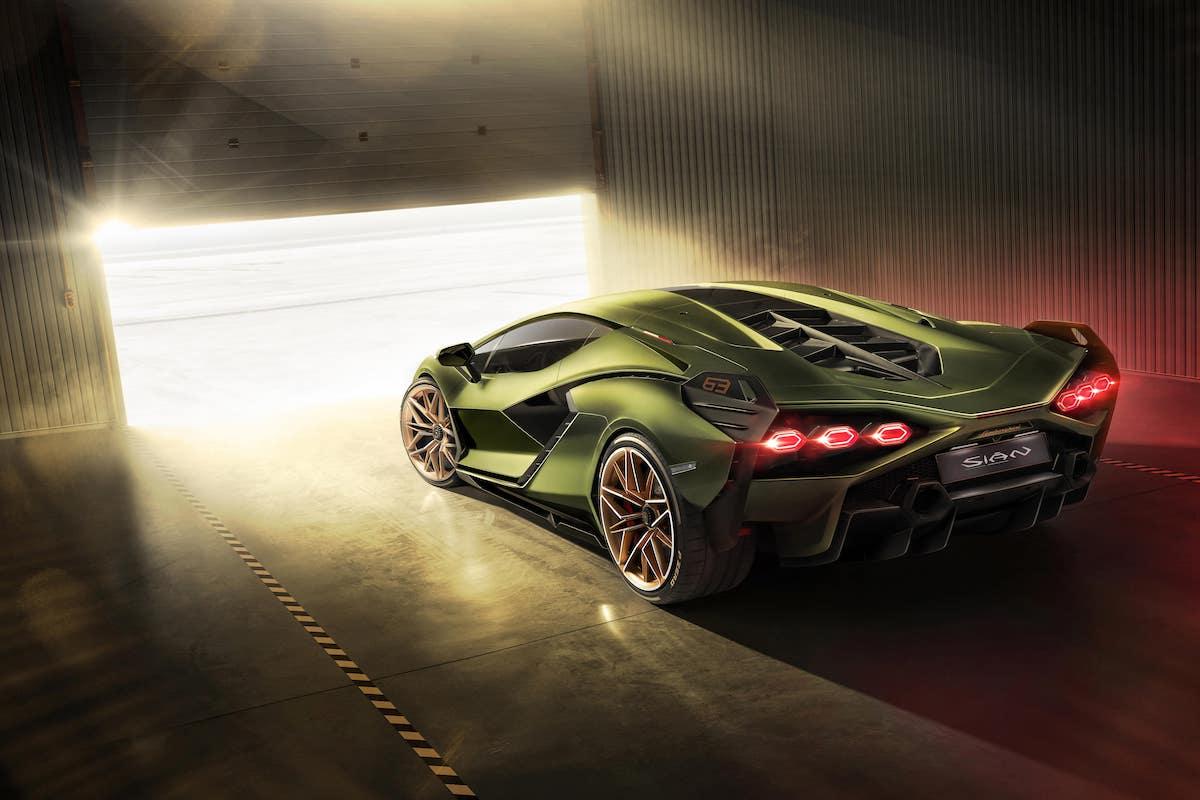 Stärkster Lambo der Welt: Der neue Lamborghini Sián 2