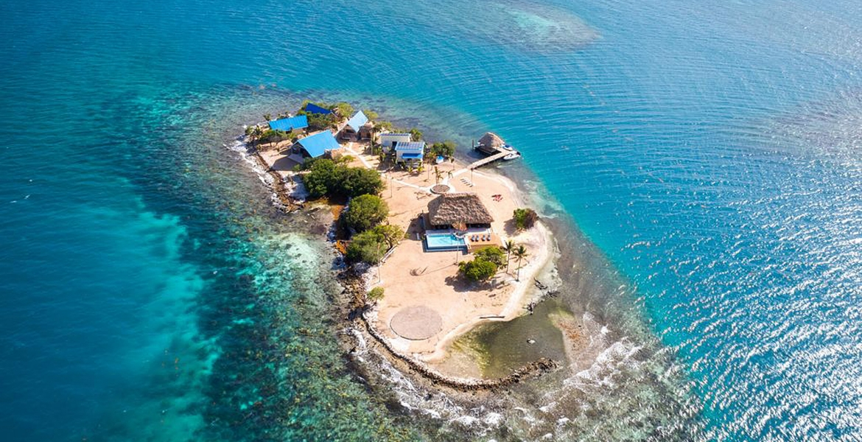 Kanu Private Island: Übernachte auf einer Privatinsel in Belize