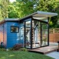 So gemütlich kann ein Zweckbau sein: Das Hinterhaus von Board & Vellum
