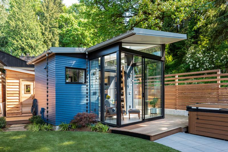 So gemütlich kann ein Zweckbau sein: Das Hinterhaus von Board & Vellum 1