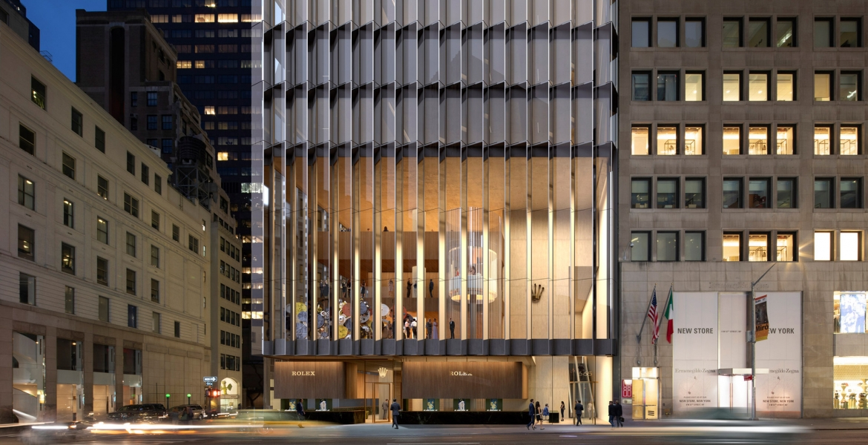 Rolex eröffnet neue Zentrale in Manhattan, New York City