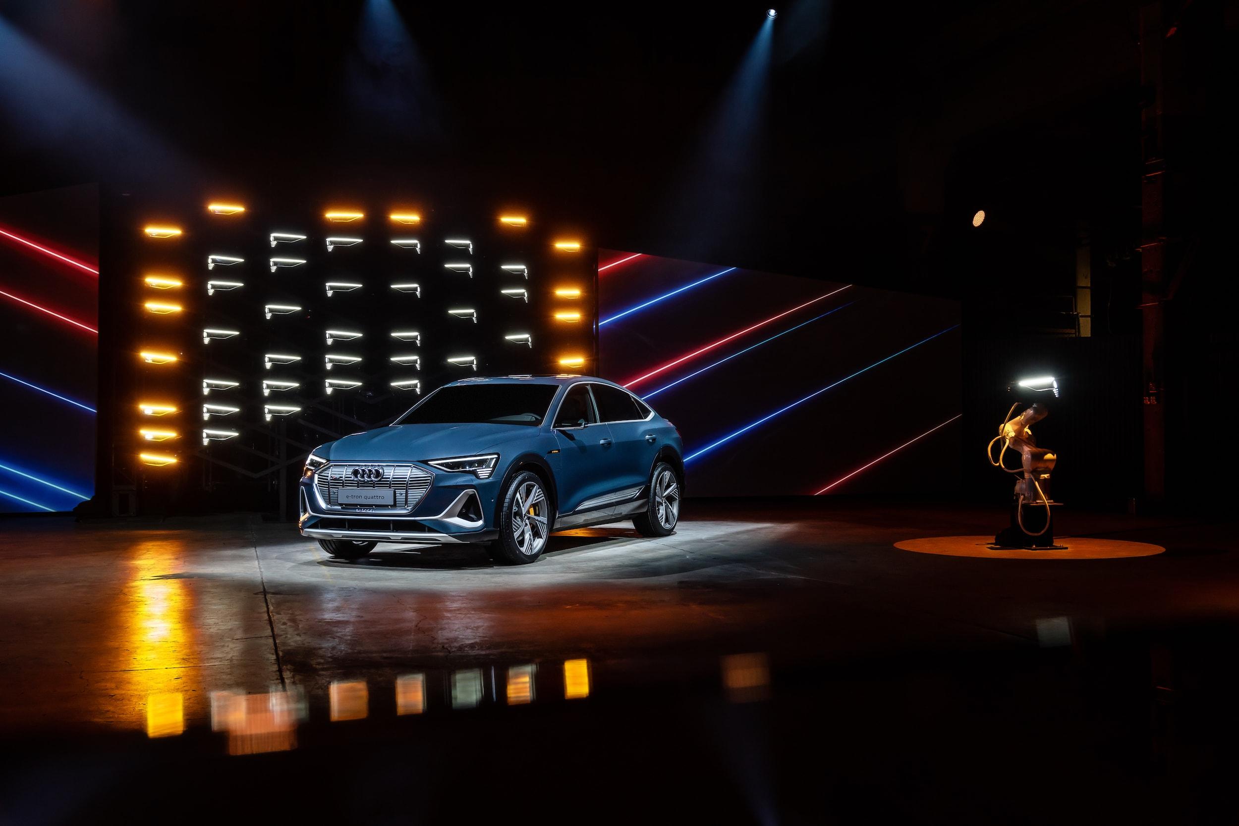 Weltpremiere in L.A.: Der Audi e-tron Sportback ist da 1