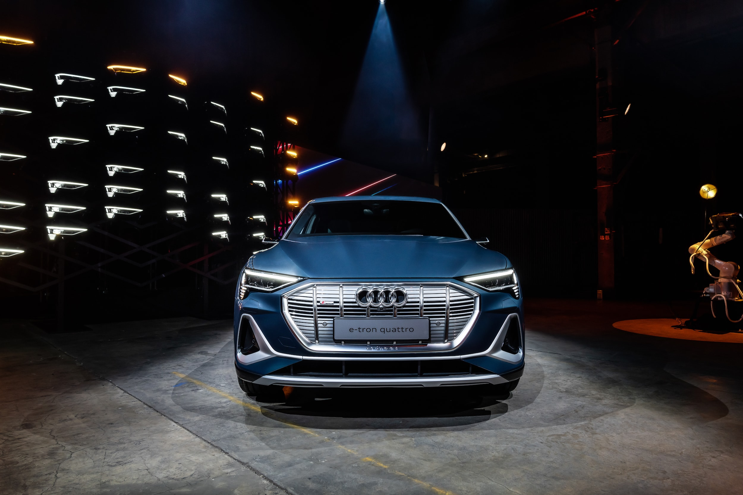 World Premiere in L.A .: This is the Audi e-tron Sportback 2