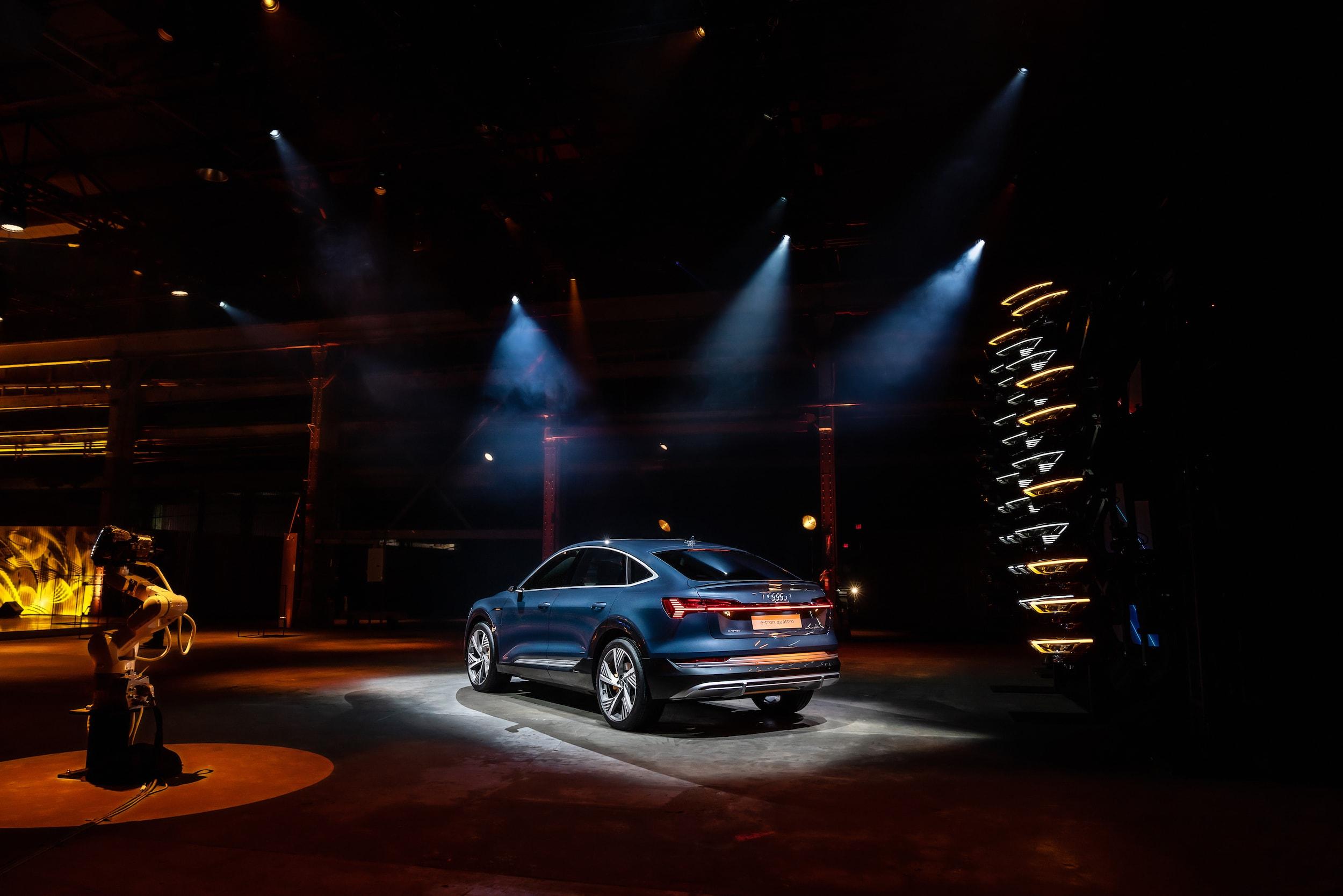 Weltpremiere in L.A.: Der Audi e-tron Sportback ist da 3