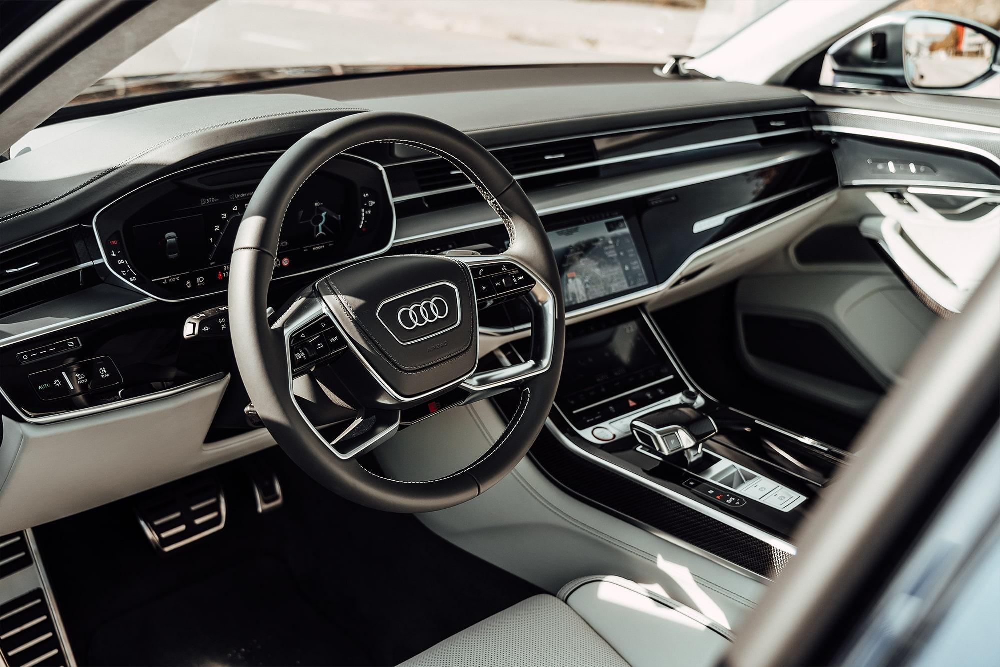 Der neue Audi S8: Komfort und Leistung auf die Spitze getrieben 14