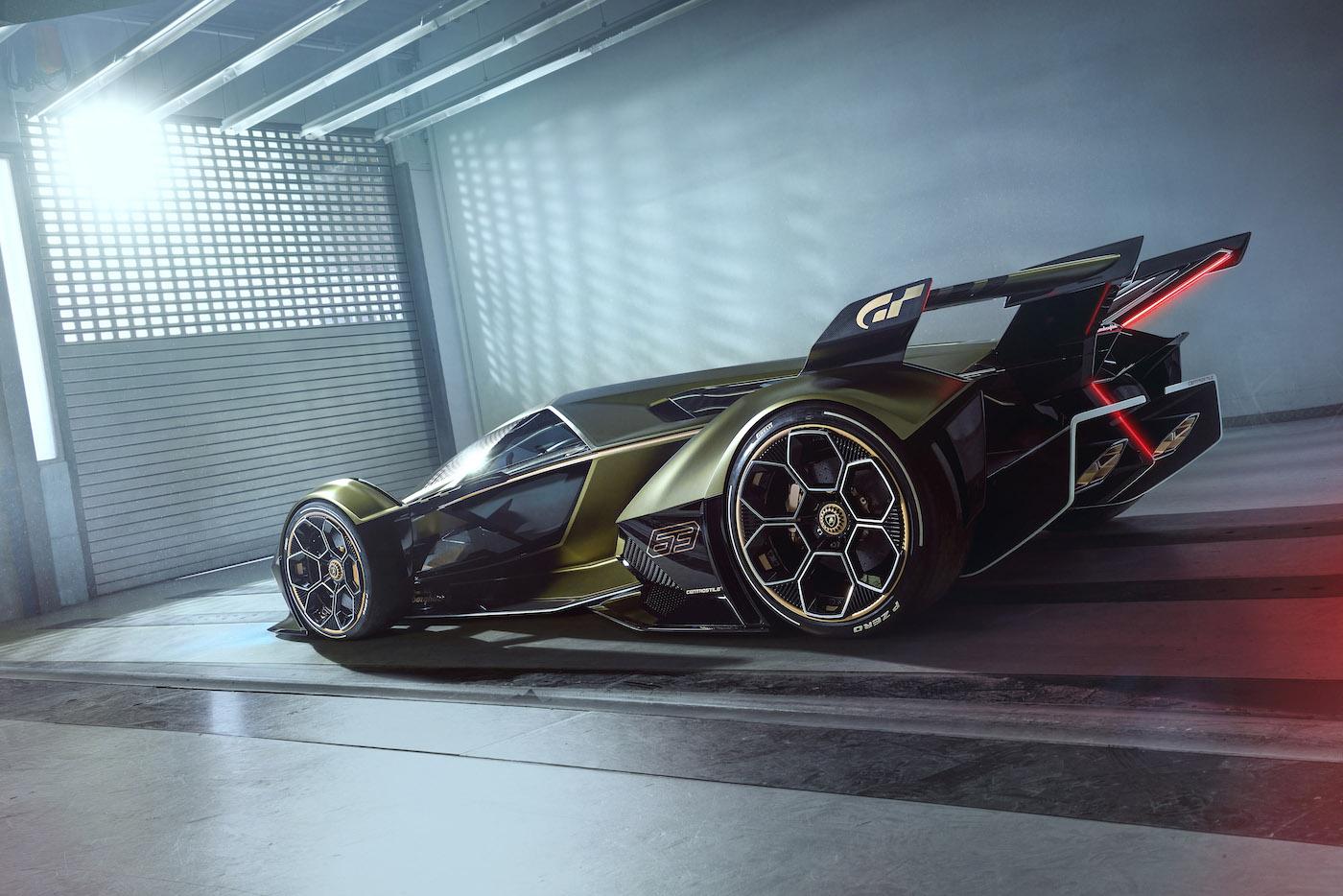 Zu schön, um wahr zu sein: Lamborghini präsentiert den V12 Vision Gran Turismo in Monte Carlo 11
