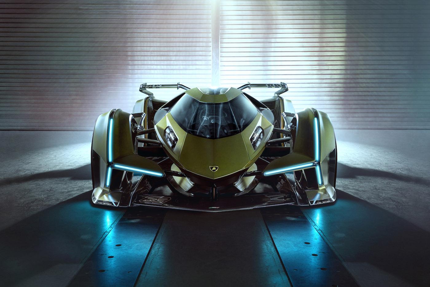 Zu schön, um wahr zu sein: Lamborghini präsentiert den V12 Vision Gran Turismo in Monte Carlo 2