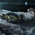 Zu schön, um wahr zu sein: Lamborghini präsentiert den V12 Vision Gran Turismo in Monte Carlo