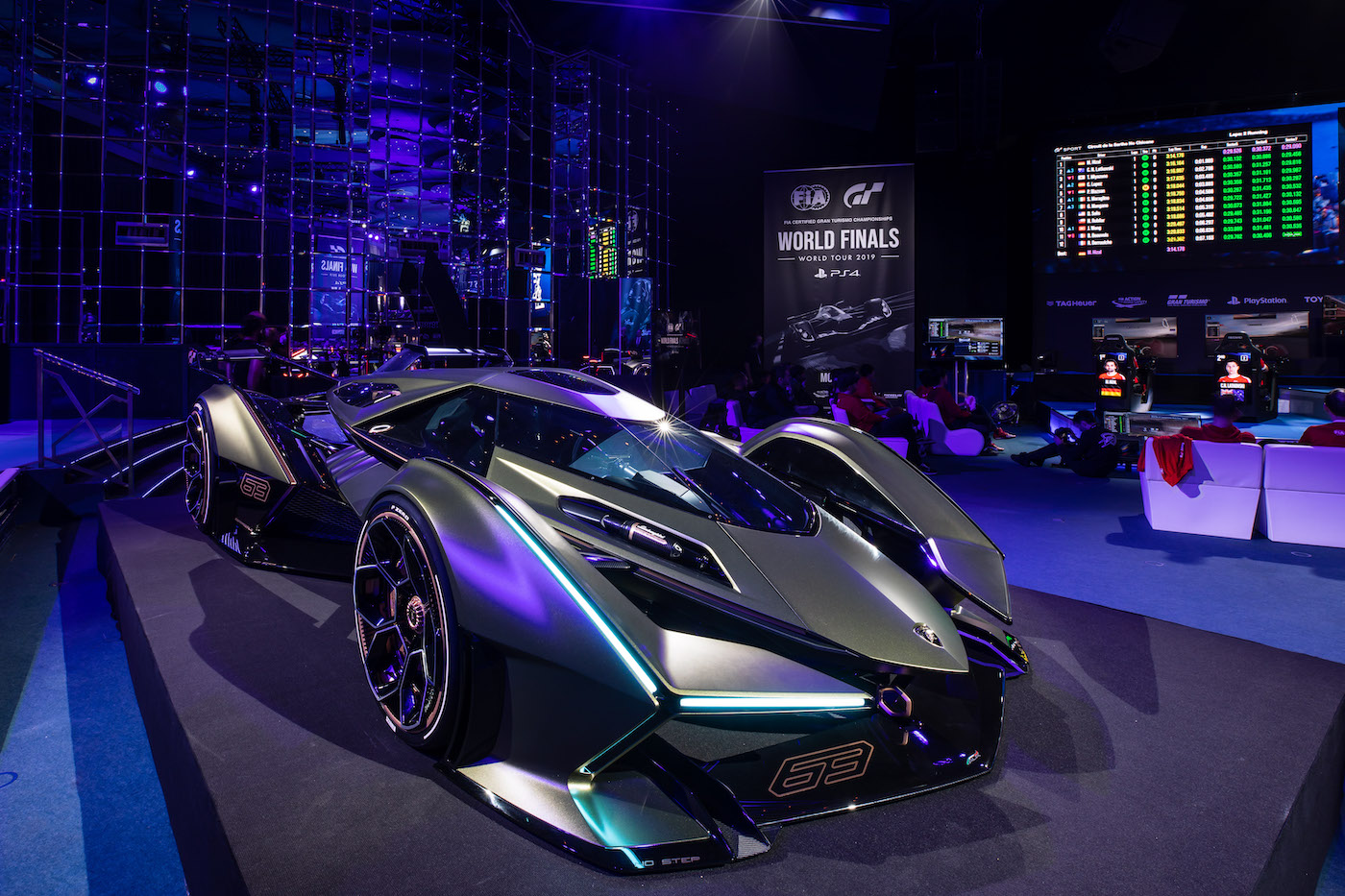 Zu schön, um wahr zu sein: Lamborghini präsentiert den V12 Vision Gran Turismo in Monte Carlo 12