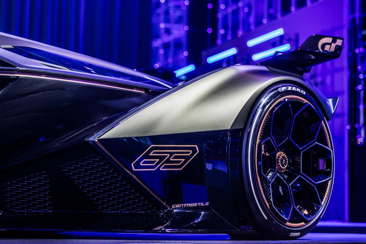 Zu schön, um wahr zu sein: Lamborghini präsentiert den V12 Vision Gran Turismo in Monte Carlo 13