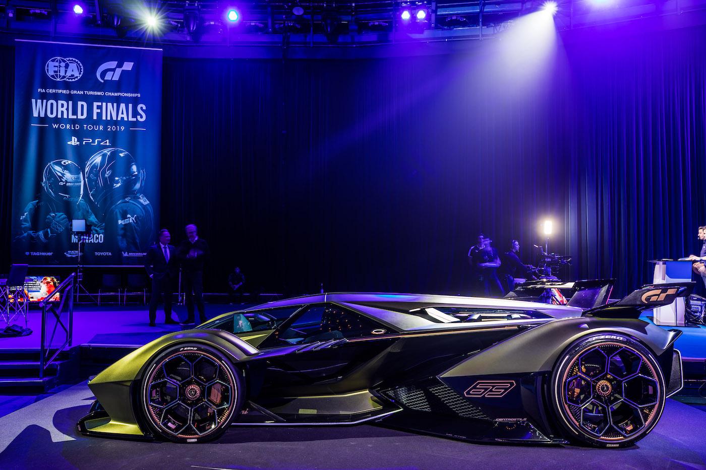 Zu schön, um wahr zu sein: Lamborghini präsentiert den V12 Vision Gran Turismo in Monte Carlo 17