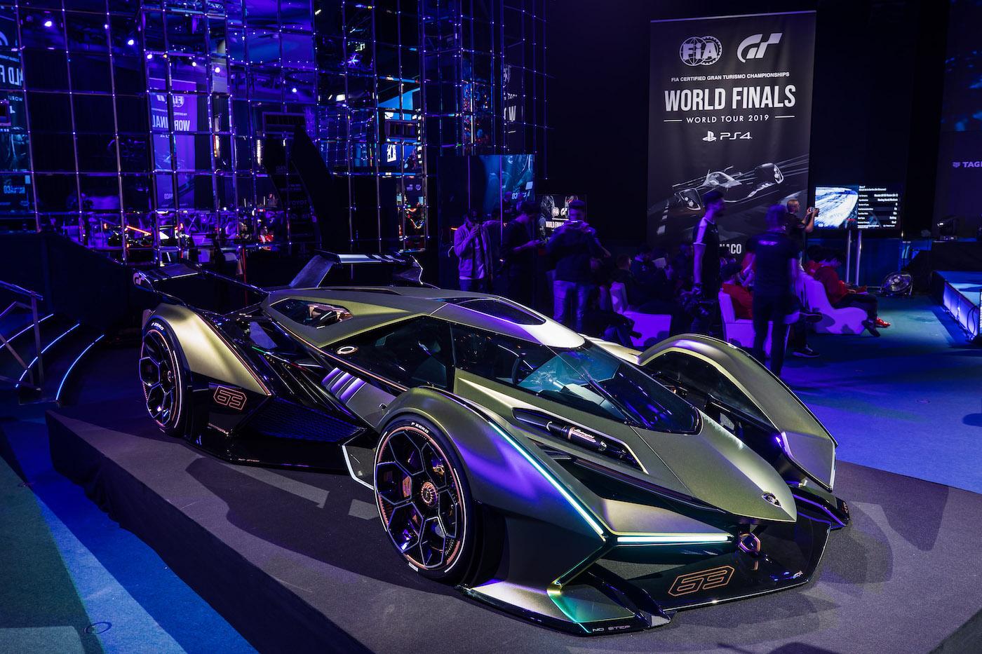 Zu schön, um wahr zu sein: Lamborghini präsentiert den V12 Vision Gran Turismo in Monte Carlo 18