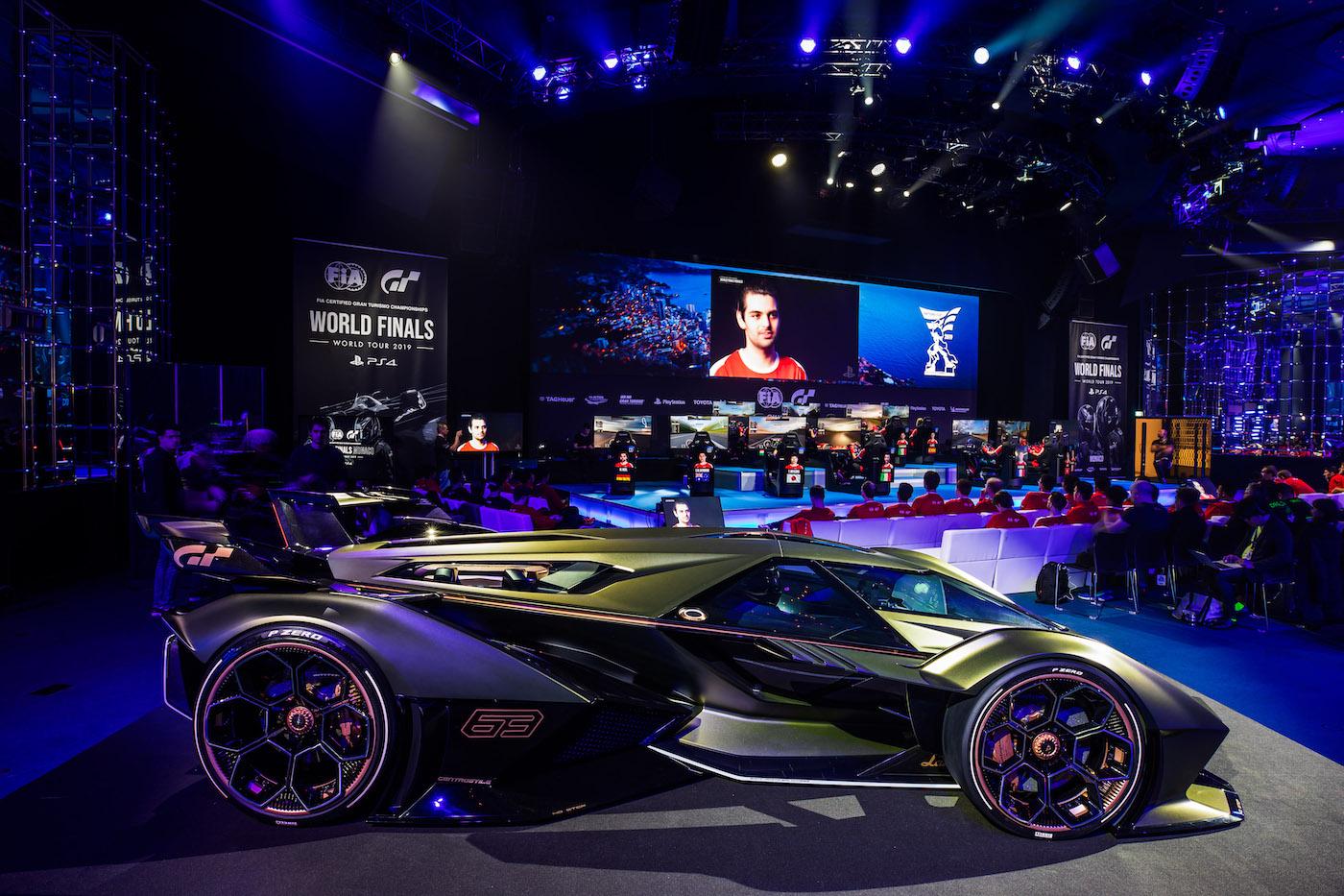 Zu schön, um wahr zu sein: Lamborghini präsentiert den V12 Vision Gran Turismo in Monte Carlo 20