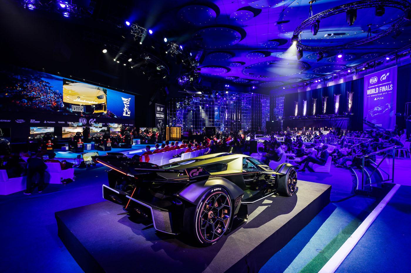 Zu schön, um wahr zu sein: Lamborghini präsentiert den V12 Vision Gran Turismo in Monte Carlo 21