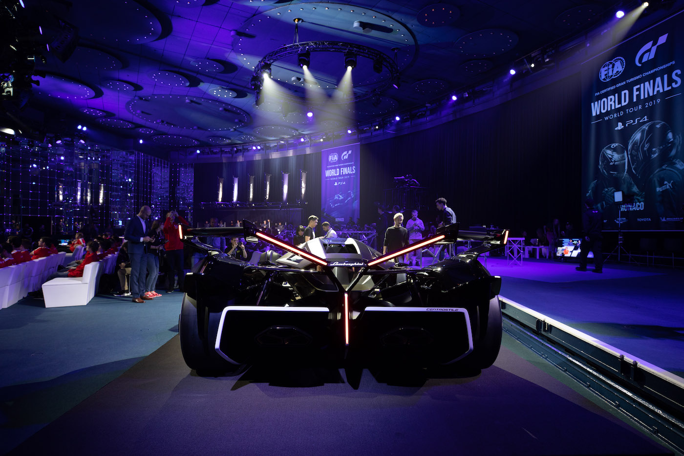 Zu schön, um wahr zu sein: Lamborghini präsentiert den V12 Vision Gran Turismo in Monte Carlo 23