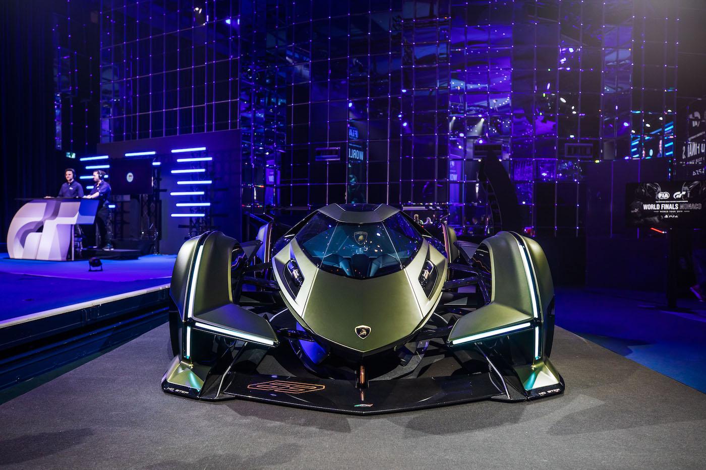 Zu schön, um wahr zu sein: Lamborghini präsentiert den V12 Vision Gran Turismo in Monte Carlo 24
