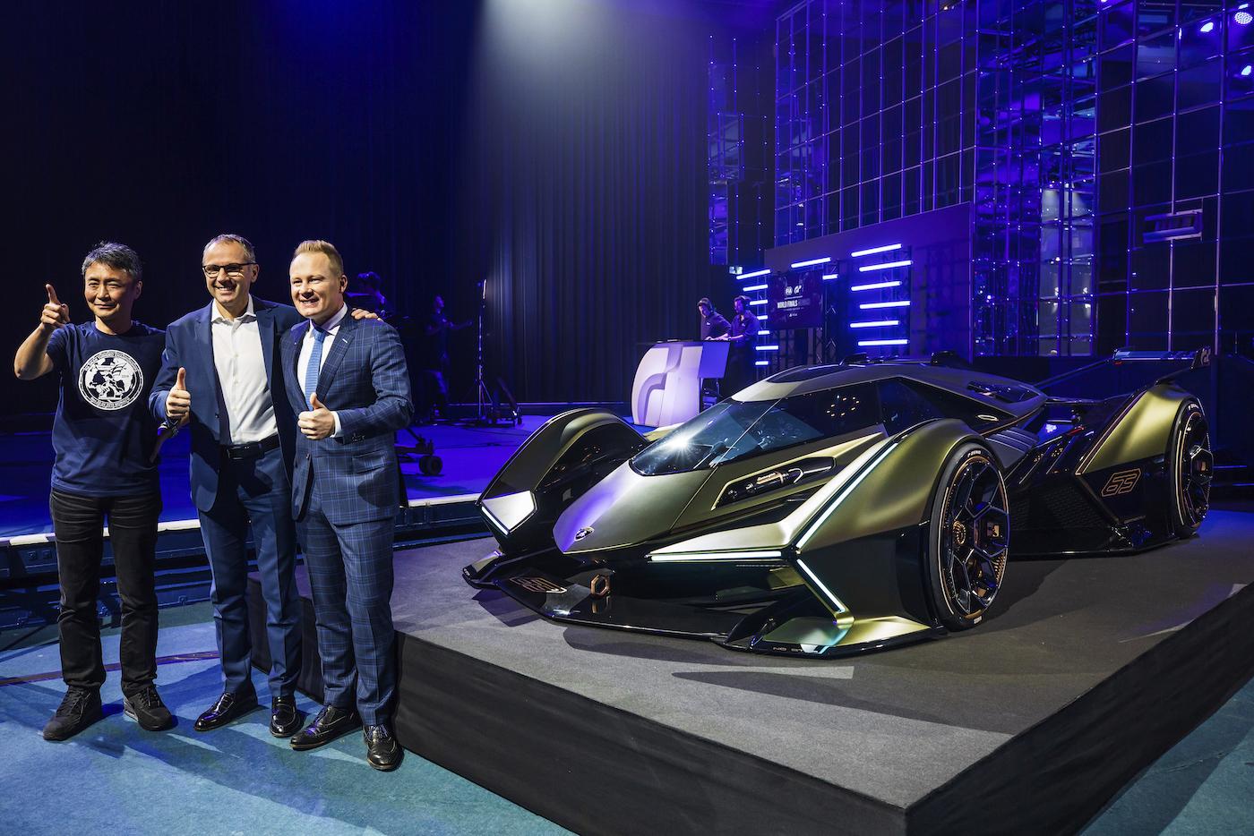 Zu schön, um wahr zu sein: Lamborghini präsentiert den V12 Vision Gran Turismo in Monte Carlo 26
