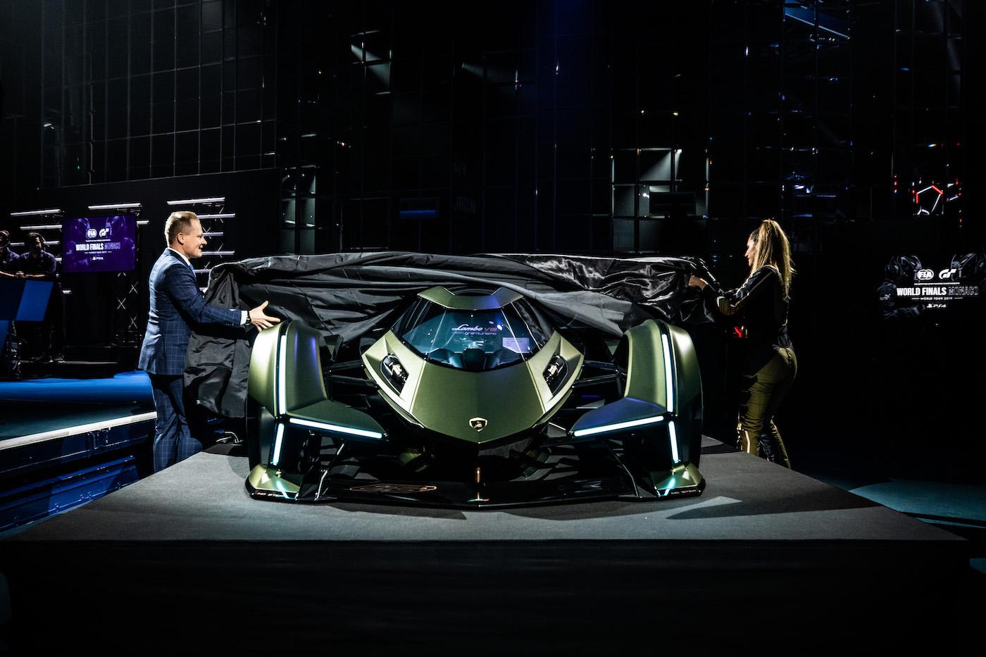 Zu schön, um wahr zu sein: Lamborghini präsentiert den V12 Vision Gran Turismo in Monte Carlo 29