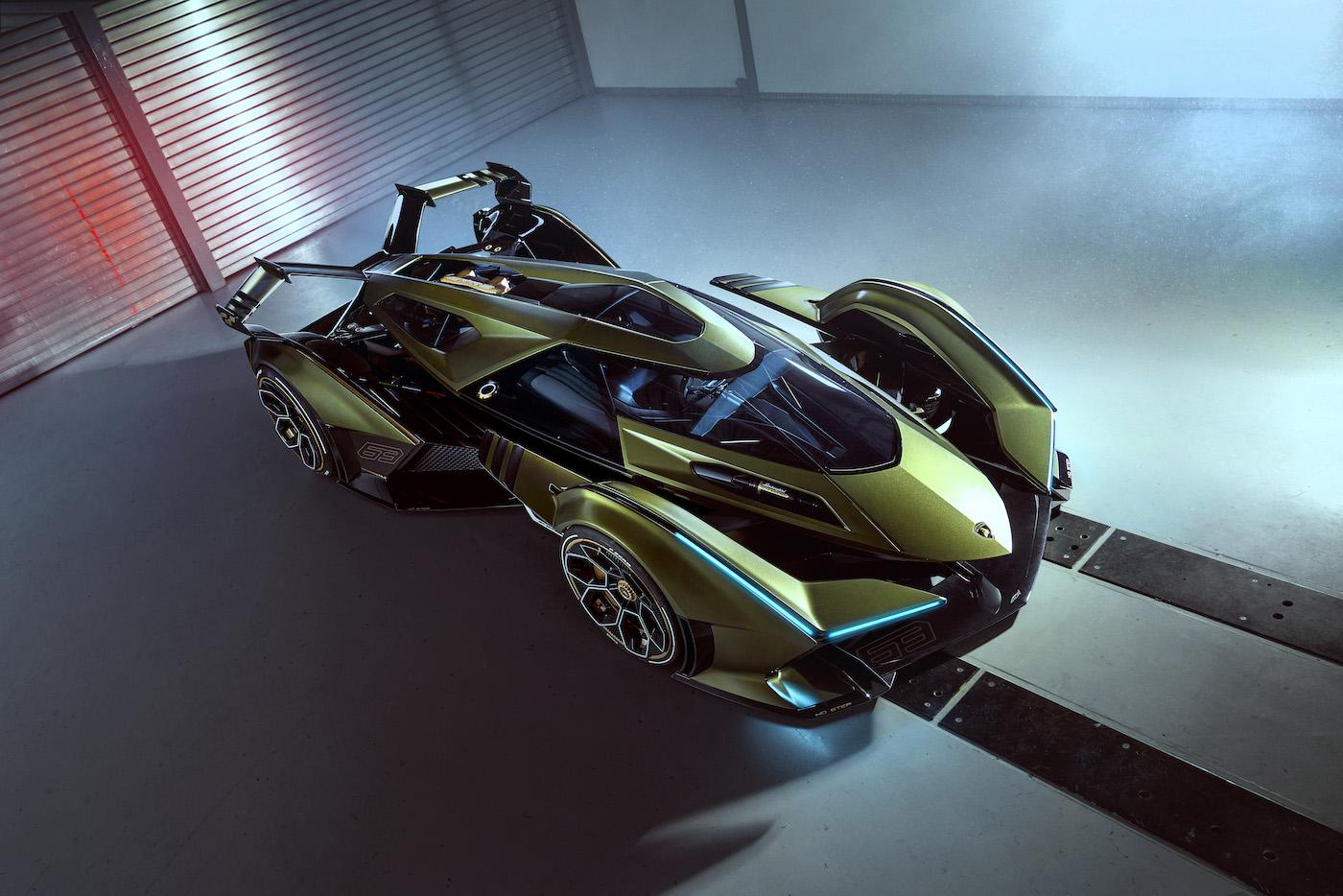 Zu schön, um wahr zu sein: Lamborghini präsentiert den V12 Vision Gran Turismo in Monte Carlo 5
