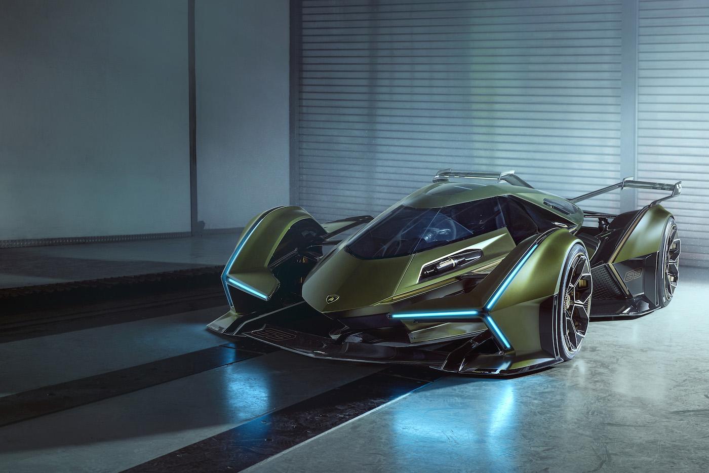 Zu schön, um wahr zu sein: Lamborghini präsentiert den V12 Vision Gran Turismo in Monte Carlo 7