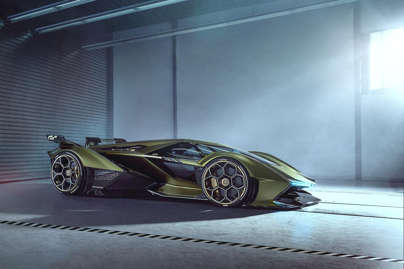 Zu schön, um wahr zu sein: Lamborghini präsentiert den V12 Vision Gran Turismo in Monte Carlo 8