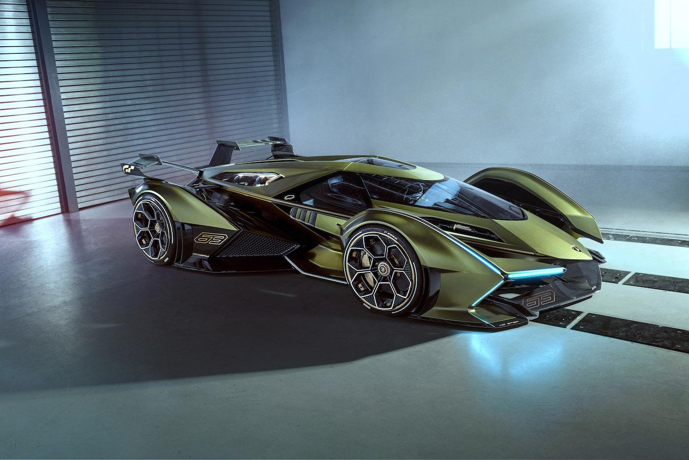 Zu schön, um wahr zu sein: Lamborghini präsentiert den V12 Vision Gran Turismo in Monte Carlo 9