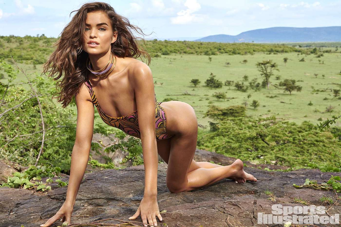 Robin Holzken  für die Sports Illustrated Swimsuit Issue in Kenia 21