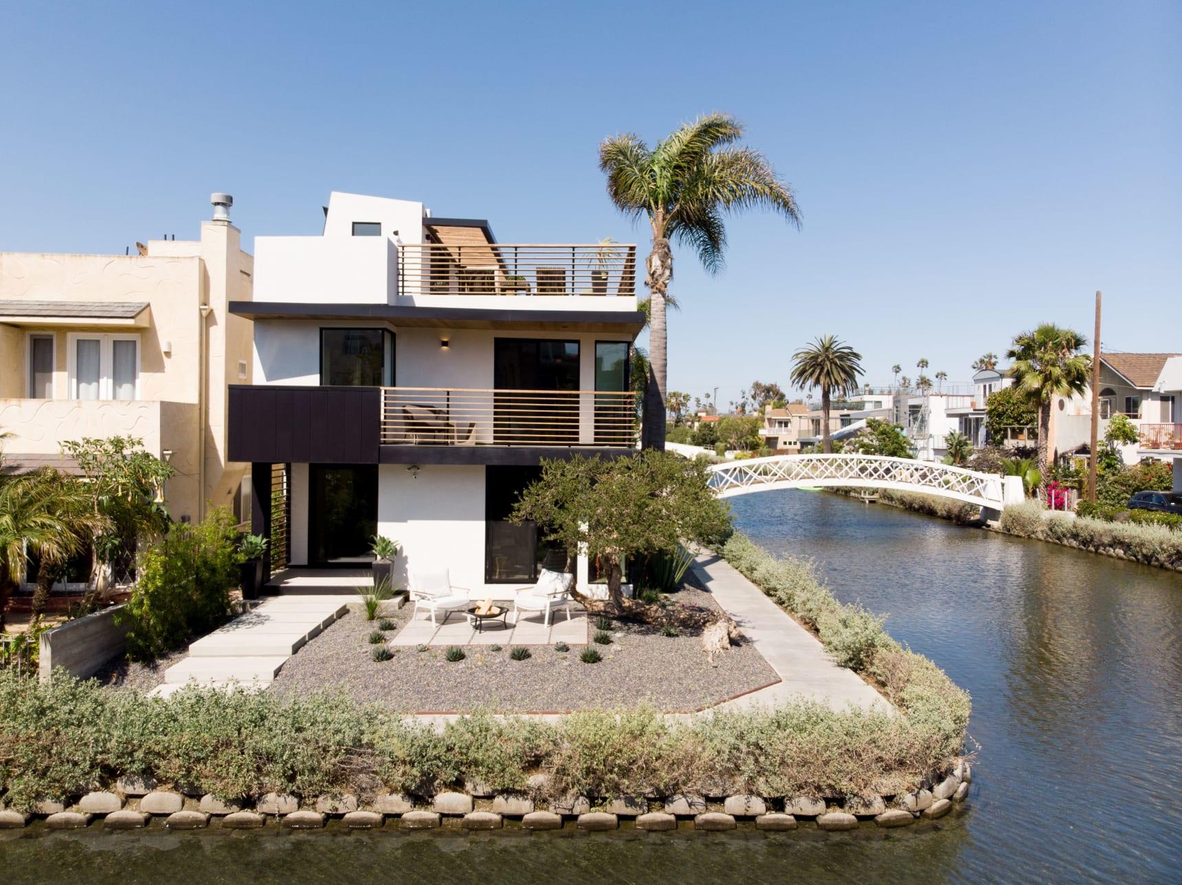 Ein Wohntraum inmitten der Kanäle von Venice Beach in Los Angeles 1