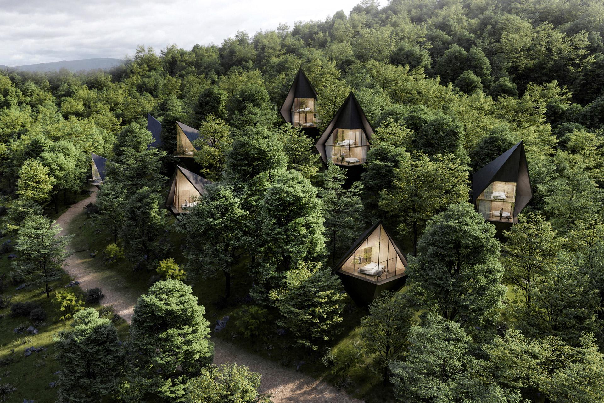 Wild, wundervoll und nachhaltig: Die Dawson Lake Tree Houses 1