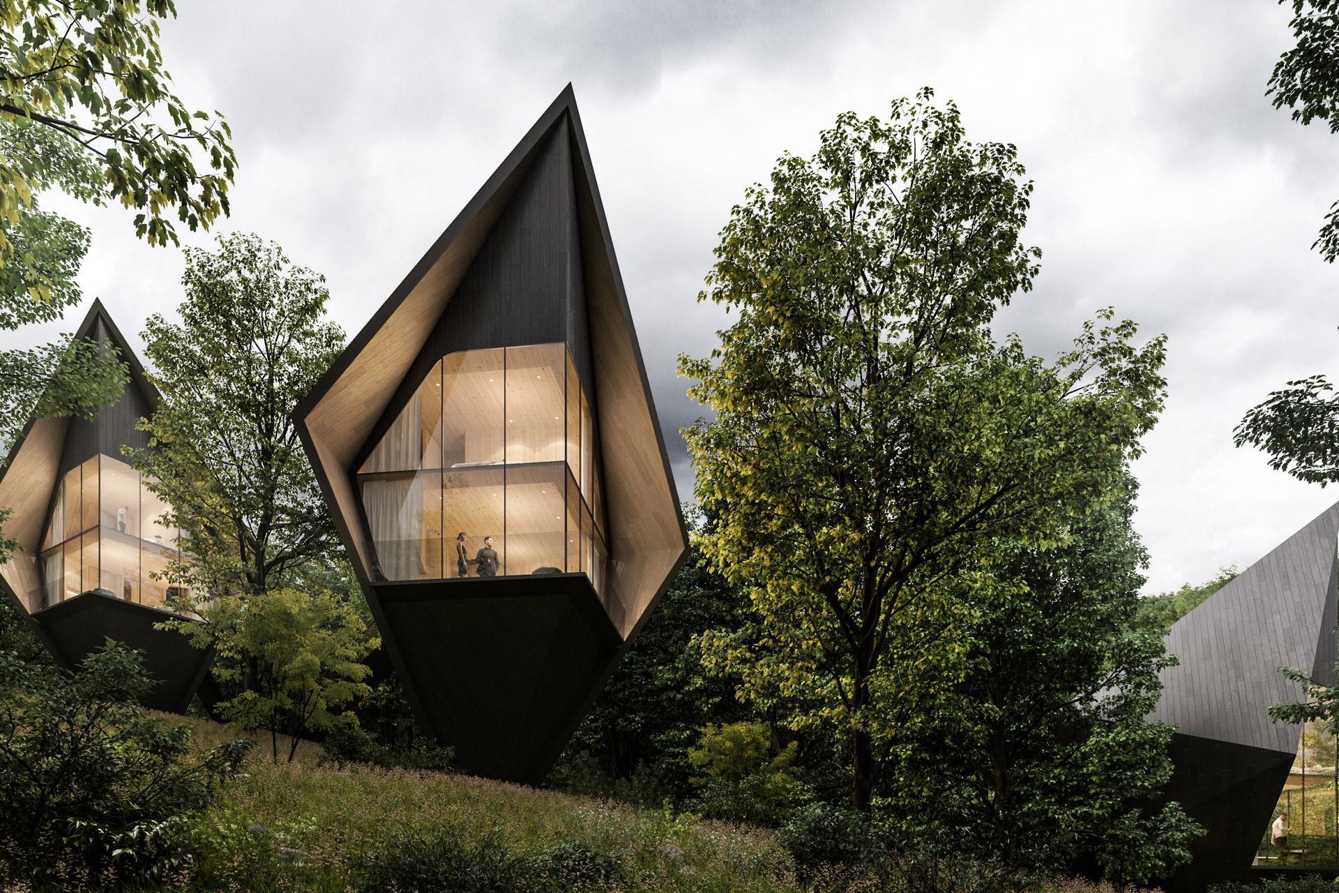 Wild, wundervoll und nachhaltig: Die Dawson Lake Tree Houses 2