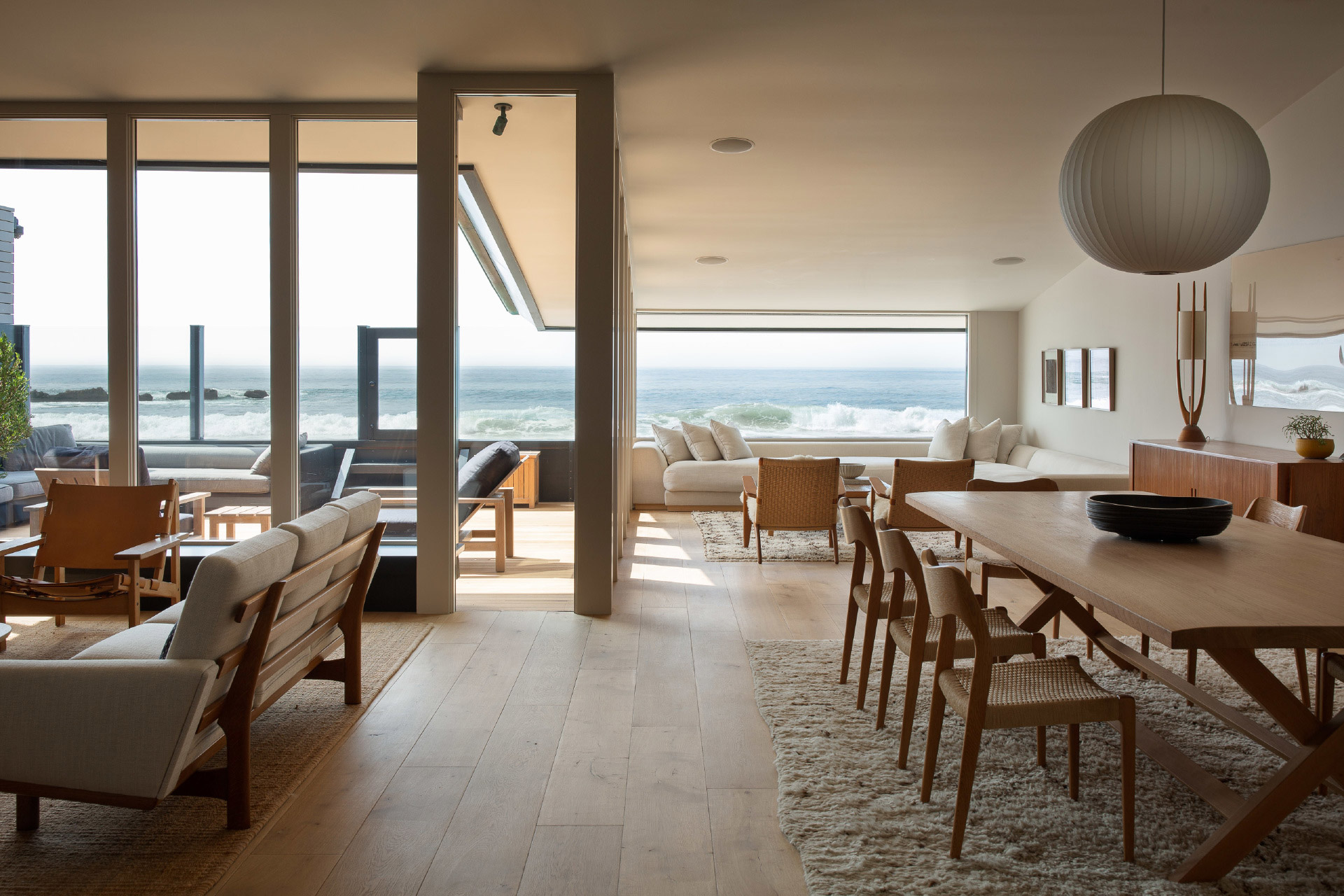 Ein Blick in Jason Stathams Strandhaus in Malibu, Kalifornien 1