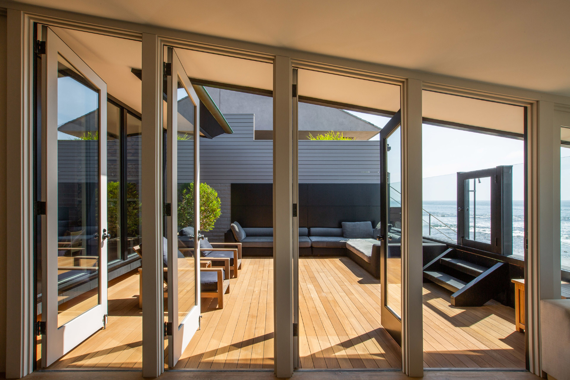Ein Blick in Jason Stathams Strandhaus in Malibu, Kalifornien 3