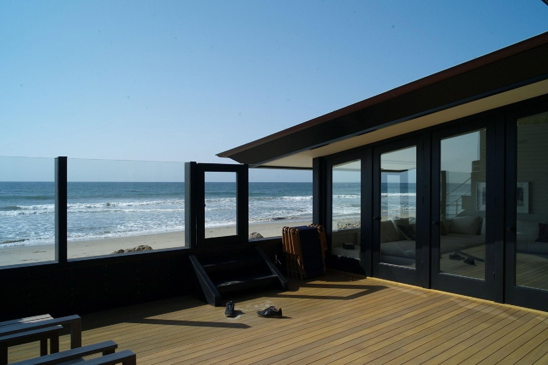 Ein Blick in Jason Stathams Strandhaus in Malibu, Kalifornien 2