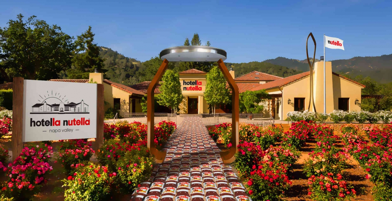 Nutella-Fans aufgepasst: In Kalifornien eröffnet im Januar ein Nutella-Hotel