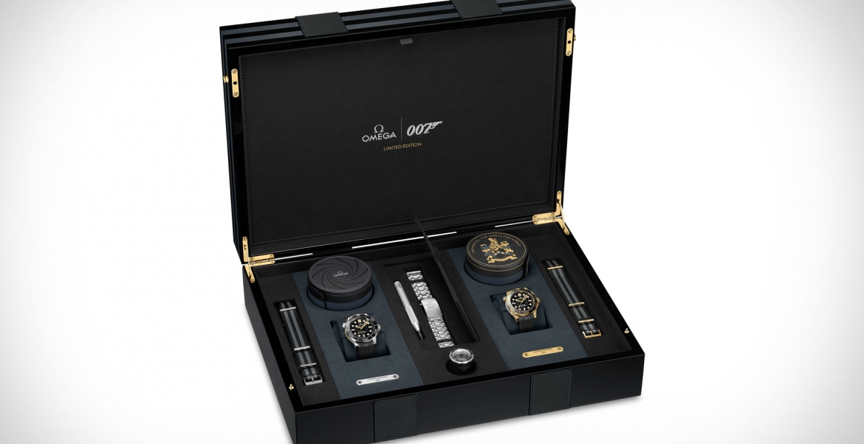 Omega Seamaster James Bond Edition: Limitiertes Uhren-Set ehrt 007