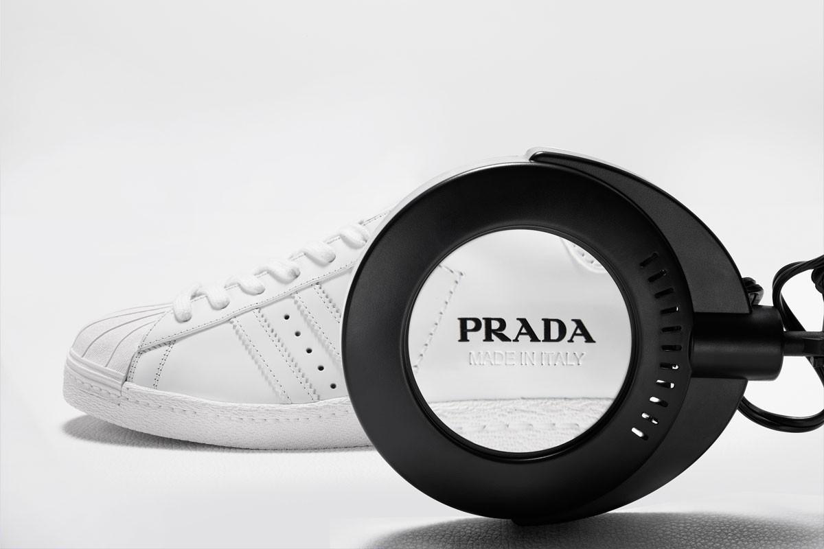 Prada for Adidas: Der ikonischer Superstar Sneaker wird neuinterpretiert 3