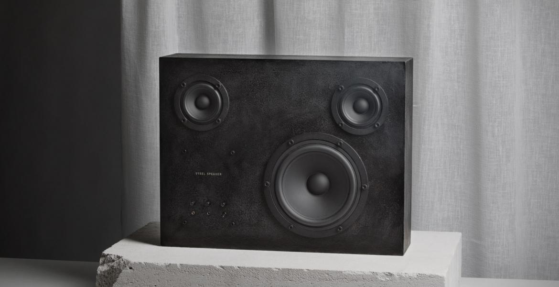Heavy Metal Sound: Ein Lautsprecher aus massivem Stahl