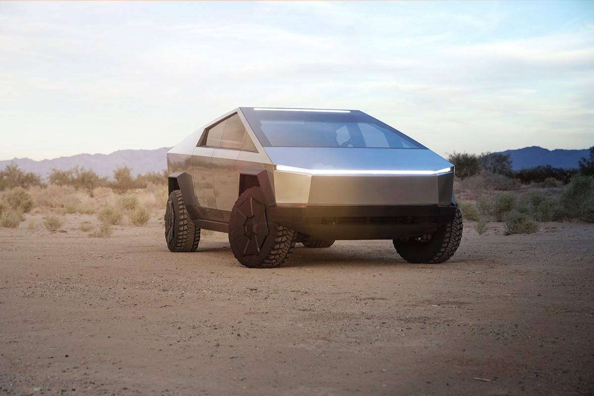 """Elon Musk stellt eigenartigen Elektro-Pick-Up """"Cybertruck"""" vor 2"""