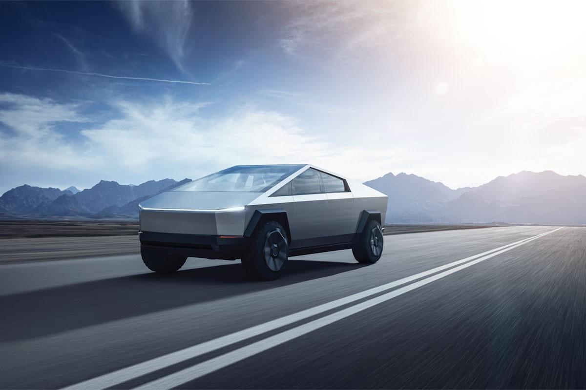 """Elon Musk stellt eigenartigen Elektro-Pick-Up """"Cybertruck"""" vor 1"""