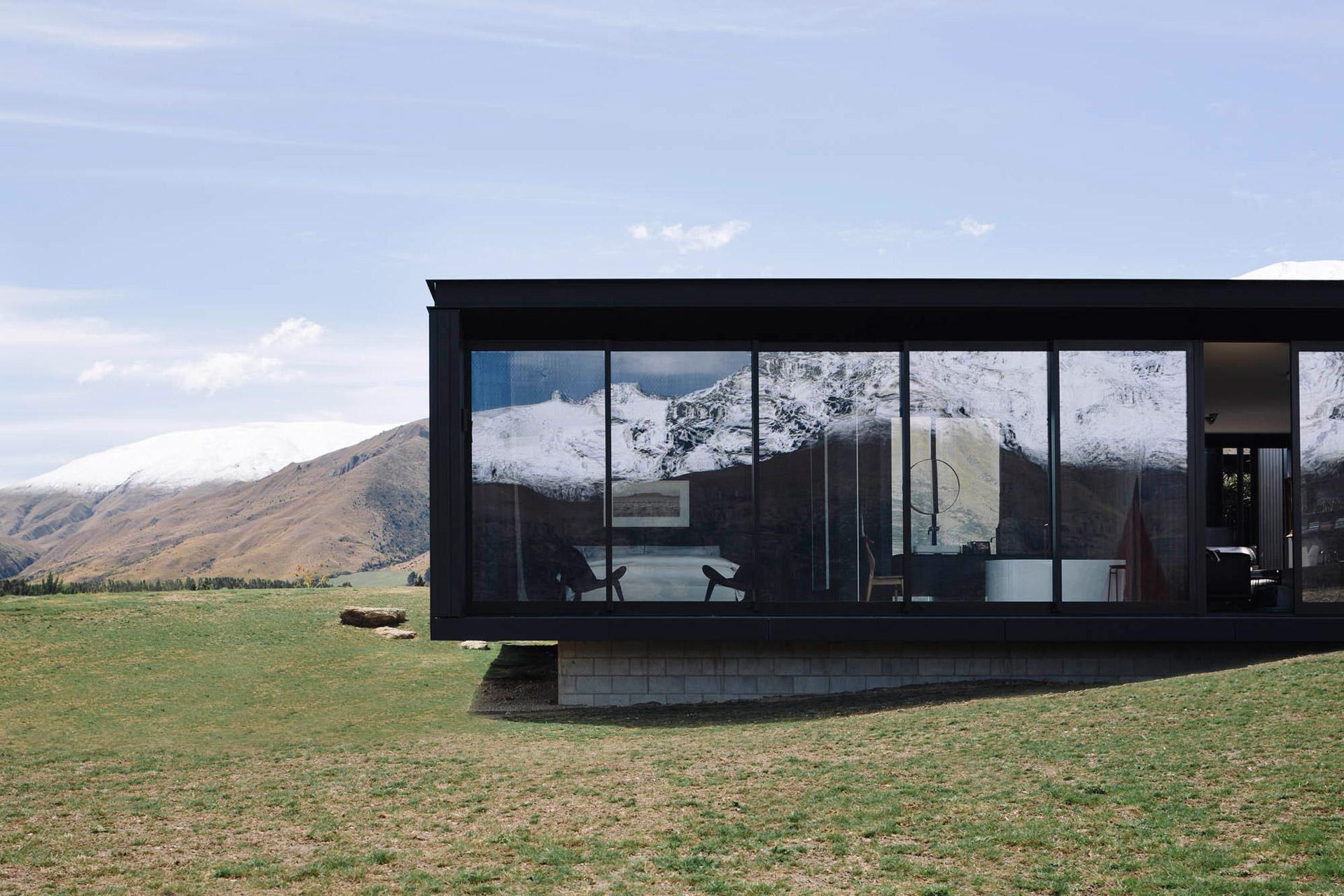 Das Alpine Terrace House: Das etwas andere Haus auf der Alm 1
