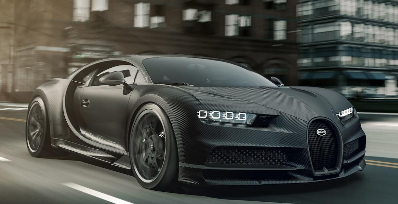 Bugatti sieht schwarz: Zwei neue $3 Millionen Dollar Modelle des Chiron wurden vorgestellt