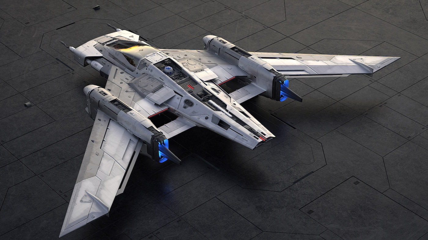 Porsche und Lucasfilm präsentieren gemeinsames Raumschiff-Design 2