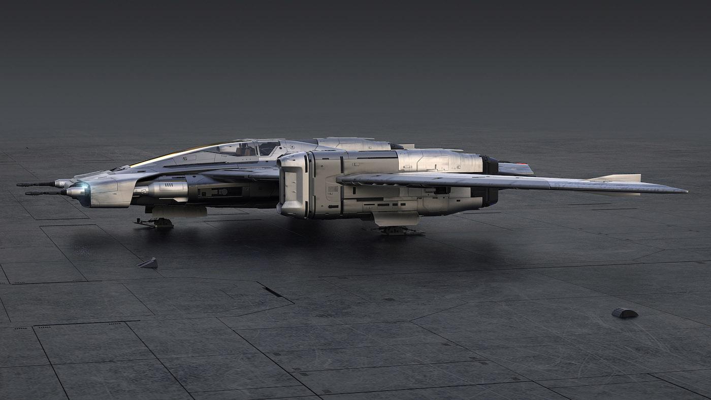 Porsche und Lucasfilm präsentieren gemeinsames Raumschiff-Design 5