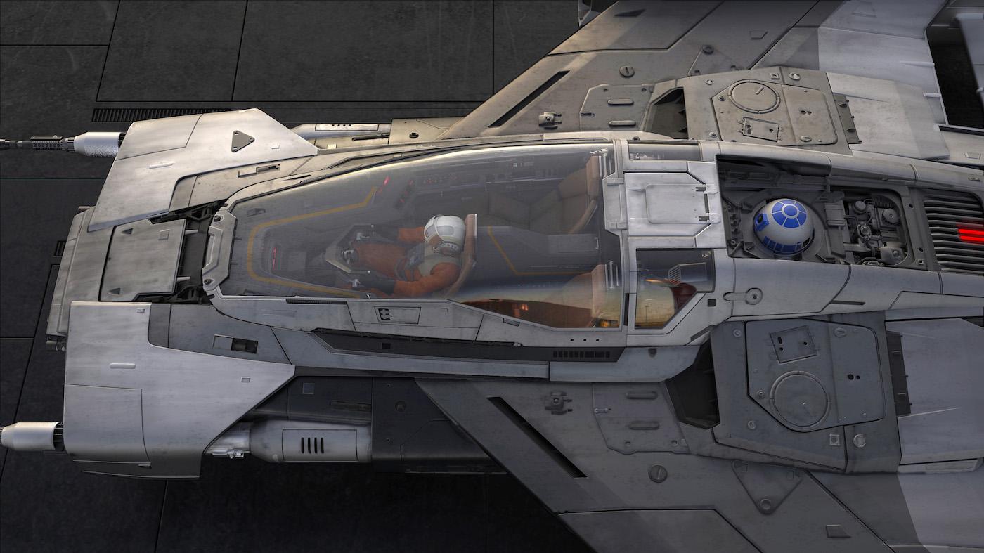 Porsche und Lucasfilm präsentieren gemeinsames Raumschiff-Design 4