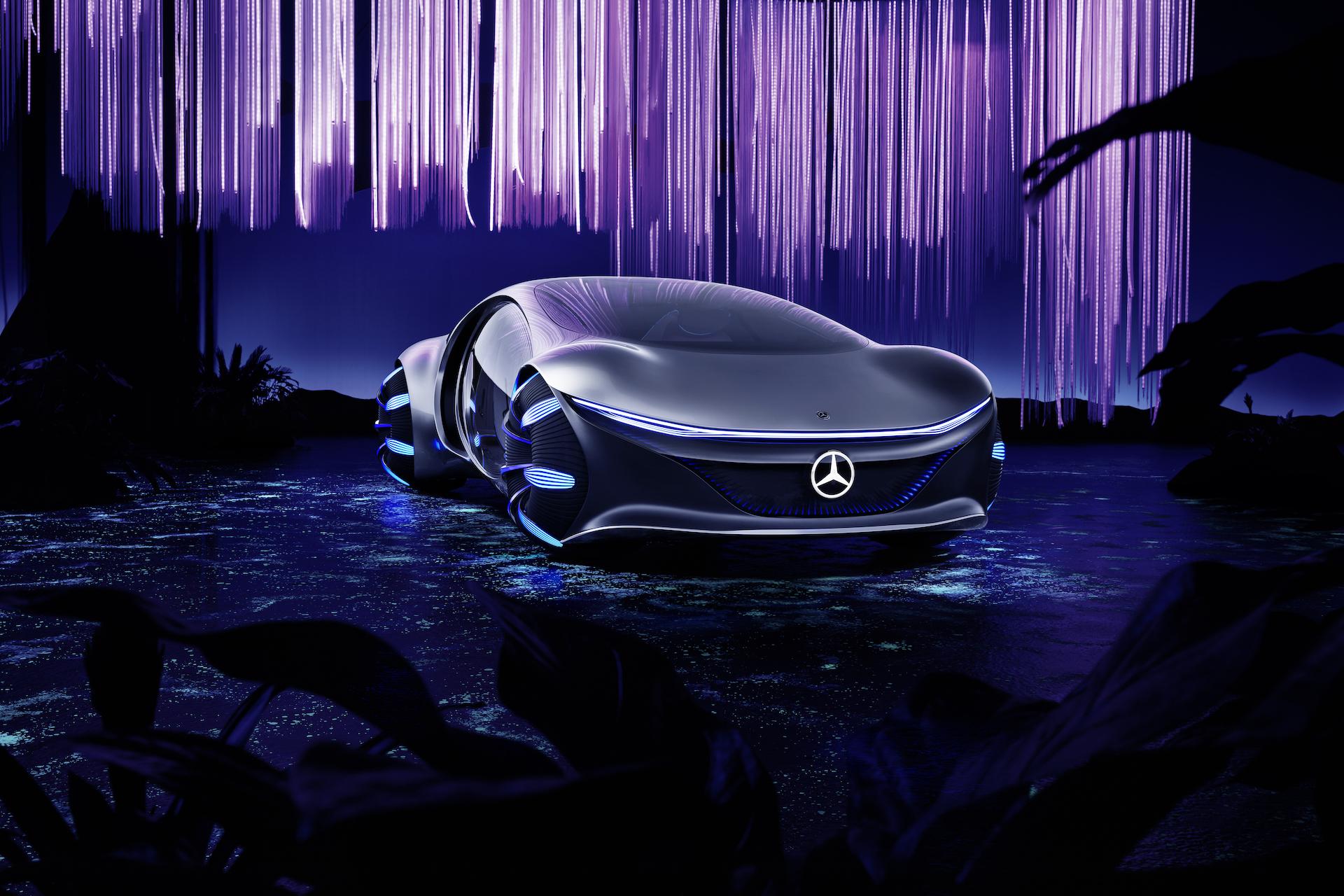 Der Mercedes-Benz Vision AVTR: Ein Auto, inspiriert von der Zukunft 1