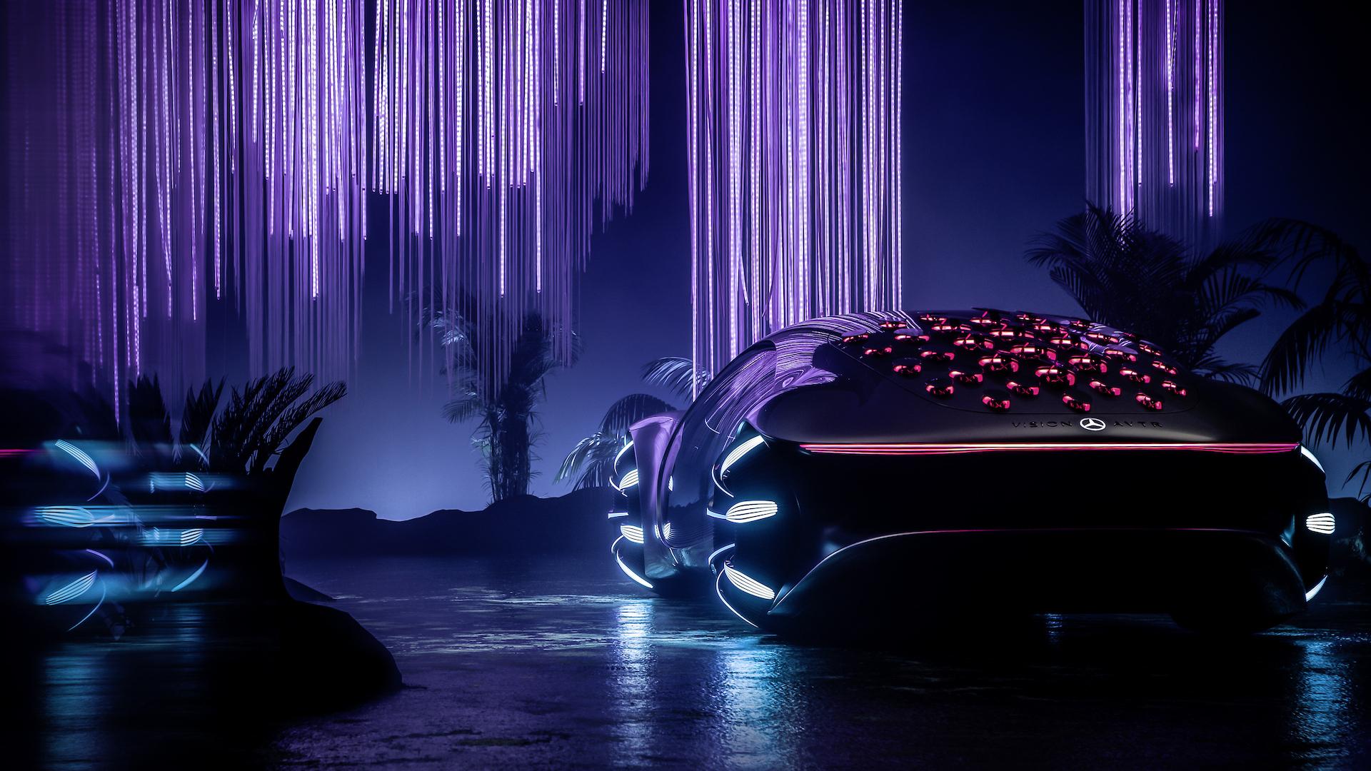 Der Mercedes-Benz Vision AVTR: Ein Auto, inspiriert von der Zukunft 8