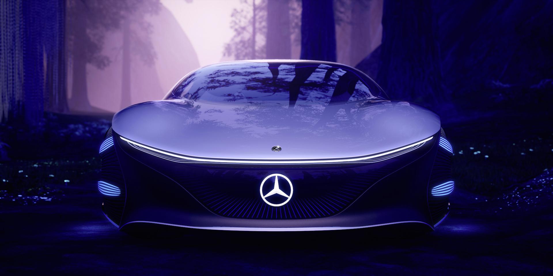 Der Mercedes-Benz Vision AVTR: Ein Auto, inspiriert von der Zukunft 7