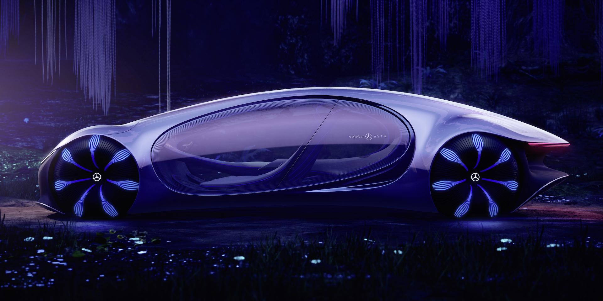 Der Mercedes-Benz Vision AVTR: Ein Auto, inspiriert von der Zukunft 6
